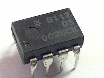 DS0026CN Dual CLOCK DRIVER