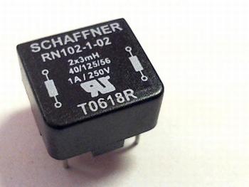 Smoorspoel 2x 3mh Schaffner RN102-1-02