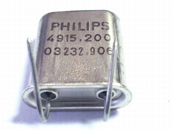 Quartz kristal 4915,200 Philips
