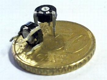 Instelpotentiometer PT6 topadjust 100K Ohm