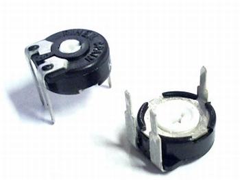 Instelpotentiometer PT10 topadjust 500K Ohm