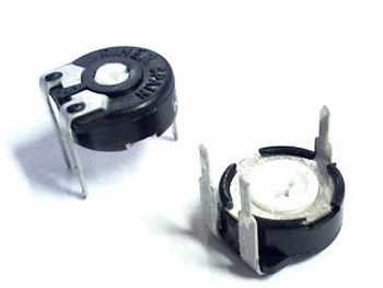 Instelpotentiometer PT10 topadjust 100K Ohm