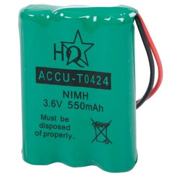 Batterypack for DECT telefphone NiMH 3.6 V 550 mAh