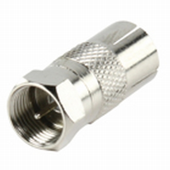F-connector naar coax female adapter