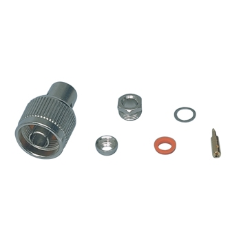 N-mannelijk clamp type RG58