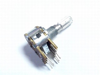 Potentiometer stereo 2K lineair