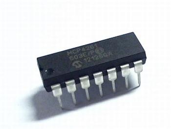 MCP4261-503E/P digitale potmeter 50K SPI 8 BIT