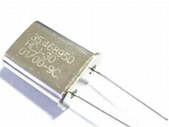 Quartz kristal 35,468950 mhz