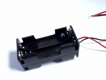Battery holder 4 x AAA with wire connection
