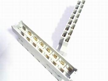 DIN41612 connector 15 polig faston aansluiting male Z-D