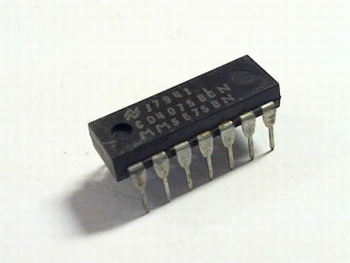 CD4075-BCN Triple 3-Input OR