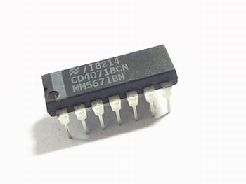 CD4071 Quad 2-Input OR Gate