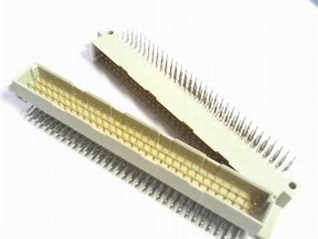 DIN41612 connector 96 polig female A-B-C haaks