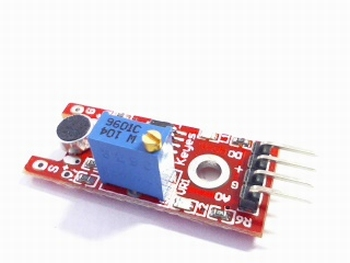 Sound sensor module for soft sounds