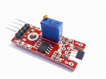 Linear Hall magnetic module
