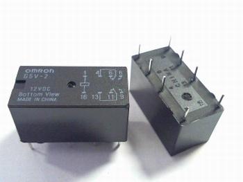 Relais Omron G5V-2 - 12VDC DPDT