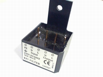 RFI Filter 230VAC 16A