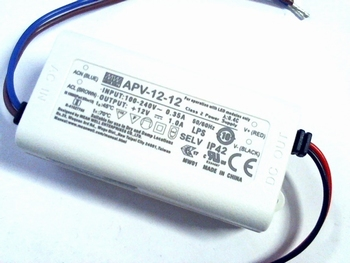 Led driver Meanwell 12Volt 1 Ampere