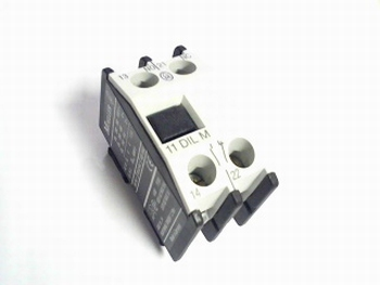 Relay MOELLER 11DILM 2 POLE AUXILIARY RELAY 600VAC 15A