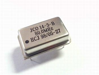 Quartz crystal oscillator 80 mhz