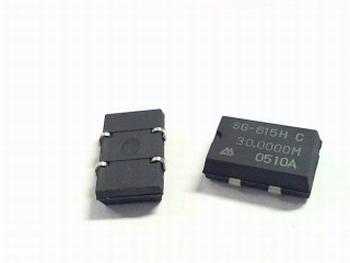 Quartz kristal oscillator SMD 30 mhz SG-615H