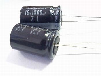 ELCO 1500uF - 16 volt