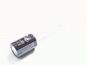ELCO 330uF - 16 volt 10 stuks