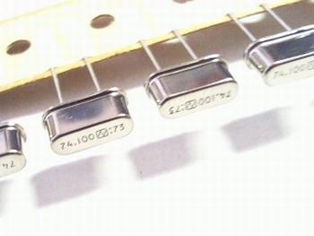 Quartz kristal 74,1 mhz