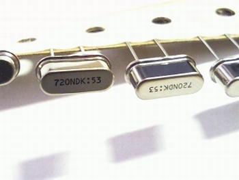 Quartz crystal 7.2 mhz