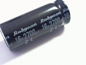ELCO 2700uF - 16 volt