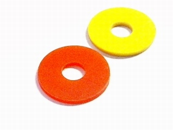 Ring plastic hole 3.5mm and round 12mm