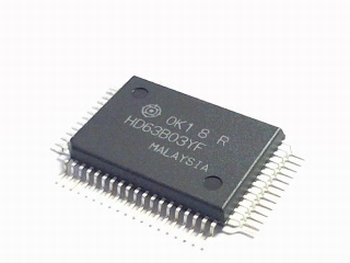 HD63B03YF 8-bit microprocessor