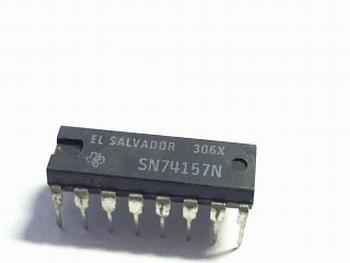 74157 Quad 2 line to 1 line dataselector