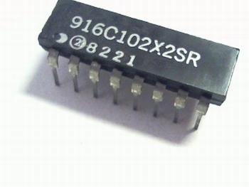 Weerstand array 8 x 1K ohm DIP16