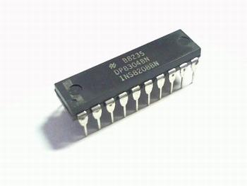 DP8304BN 8 BIT TRI-STATE BIDIRECTIONAL TRANSCEIVER