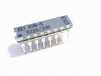 Weerstand array 220 / 330 dual resistors