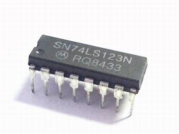 74LS123 Dual Retriggerable One-Shot