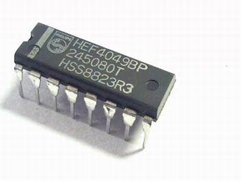 HEF4049 Hex/Buffer/Converter
