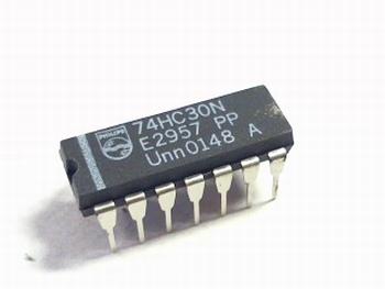 74HC30N 8 Input Positive NAND Gate