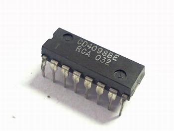 CD4098 Dual monostab. multivibrator