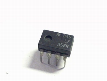 LF355 JFET Input Operational Amplifiers