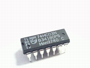 74HC03 QUAD NAND GATE DIP