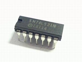 74LS21 Dual 4-input AND Gate (Open Collector)