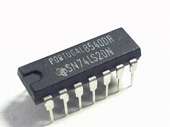 74LS20 Dual 4-input NAND Gate