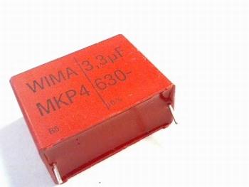 Condensator MKP4  3,3uF WIMA 630V