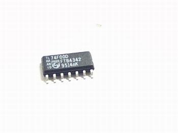 74F00D 2-Input NAND SMD