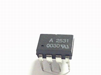 A2531 Dual Channel High Speed Optocoupler