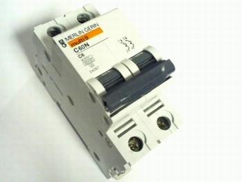 Merlin Gerin multi 9 C60N automatische zekering