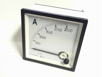 paneelmeter 0-2500 ampere DC