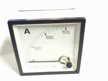 paneelmeter 0-1500 ampere DC